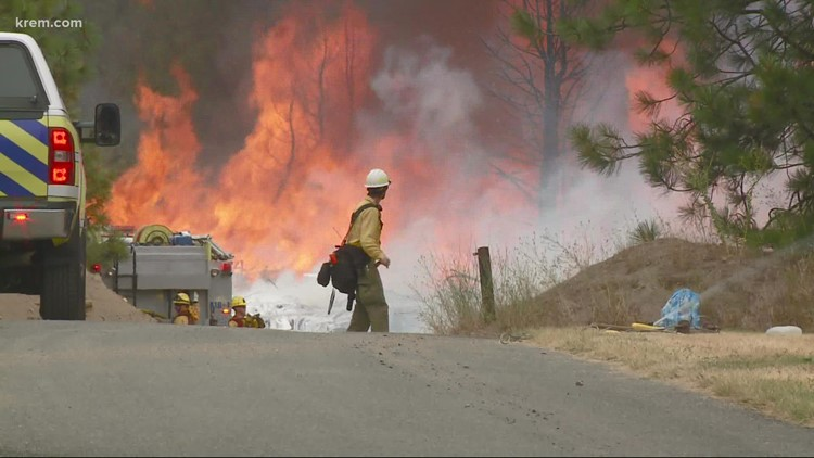 Human-caused fires up 55% compared to 2020, Washington Dept. of Natural Resources says