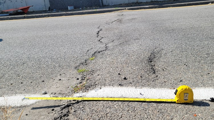Spokane roads damaged by extreme heat, here's what to expect while traveling