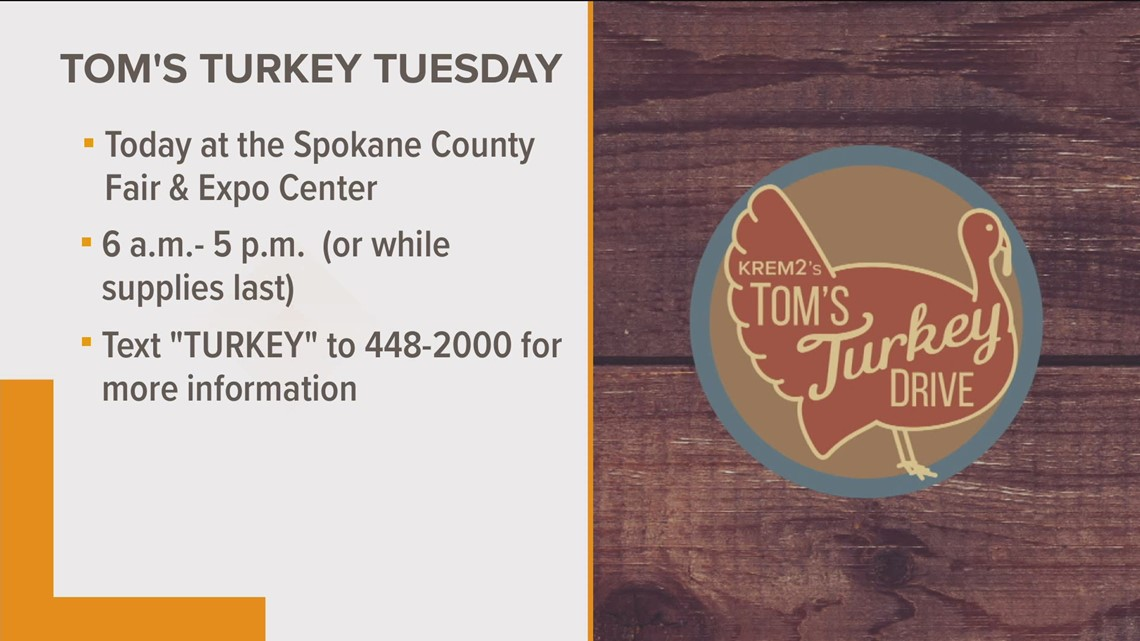 Tom's Turkey Drive helps families in need this Thanksgiving