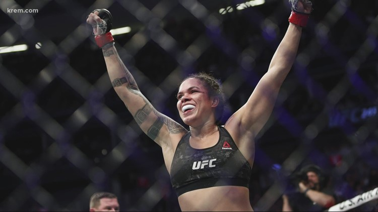 'The ref's going to have to pull me off too' Spokane native will fight Amanda Nunes this summer