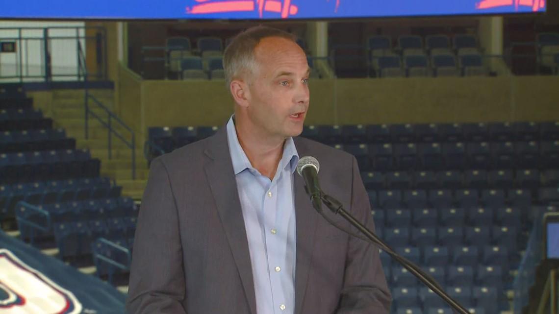 RAW: Chris Standiford speaks ask being named Gonzaga University Athletic Director