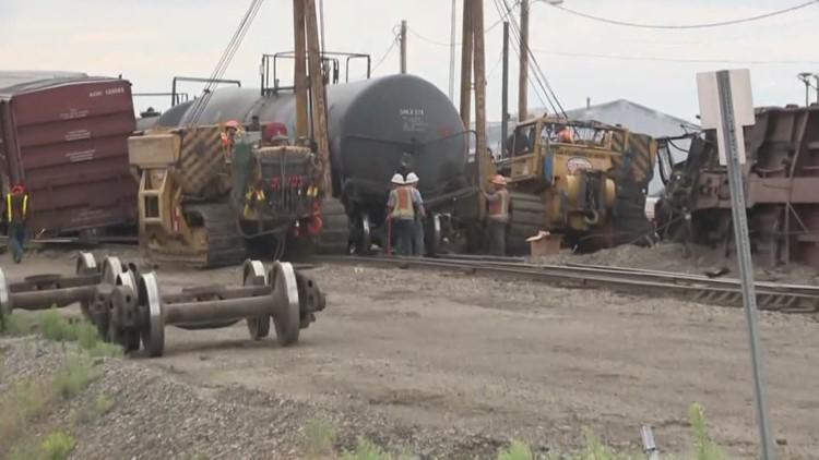 How dangerous is molten sulfur? Train cars carrying it derailed in Spokane
