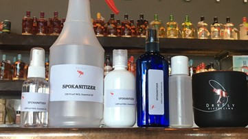 Dry Fly Distilling sanitizing spray could be available by Thursday