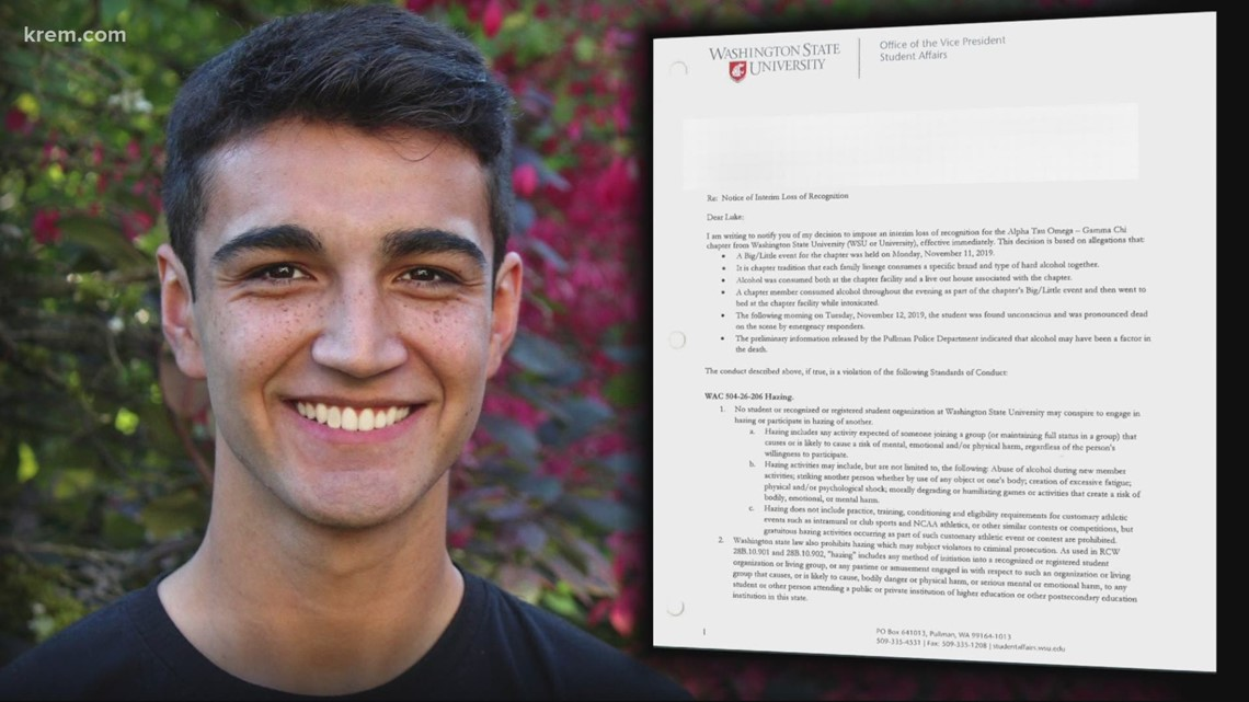 Could factors in Sam Martinez's death be considered hazing? KREM's Ian Smay and Whitney Ward investigate