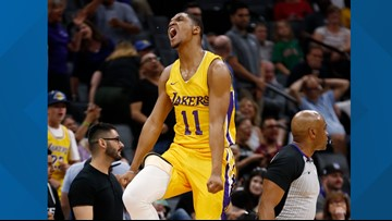 Former GU guard Zach Norvell Jr. hits game-winning three for Lakers