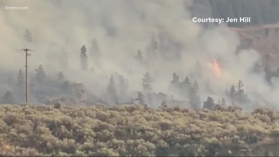 Northrup Fire burning near Grand Coulee prompts Level 2 evacuations and other top stories at 11 p.m.