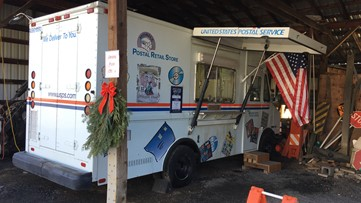 USPS moves post office in small North Idaho city to a van