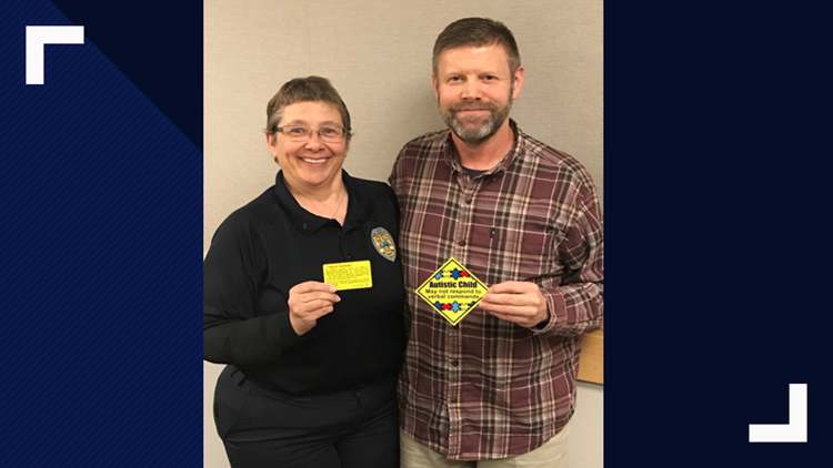 Post Falls detective helps to develop stickers for autism awareness