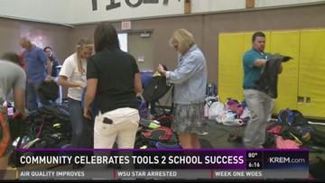 Community celebrates Tools 2 Schools success