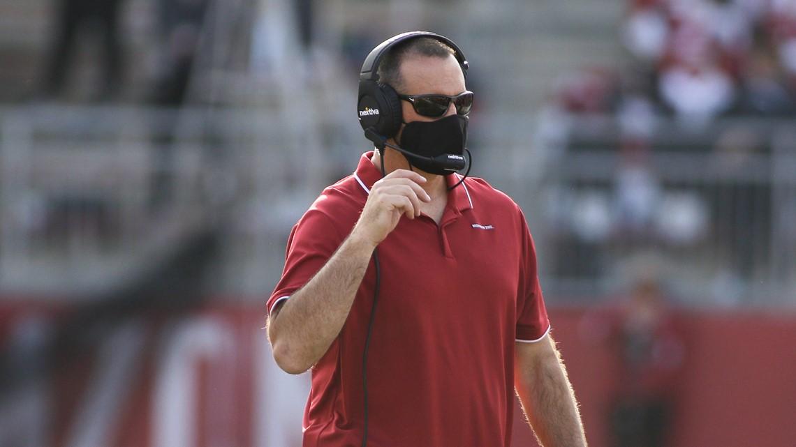 WSU's Rolovich talks comeback loss woes, quarterback health status during Monday presser