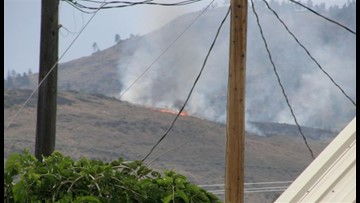 Three fires burning in Okanogan Co. now under control, sheriff says