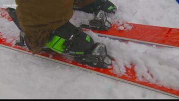 Skiers, snowboarders enjoy fresh powder on Schweitzer Mountain