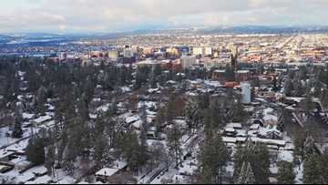 Inland Northwest snow storms to continue throughout the week