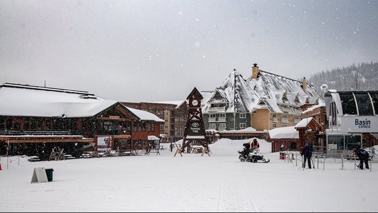 As of Tuesday, Schweitzer had seen 416 inches of snow at their village, beating their their previous seasonal total of 412 inches in 1999.