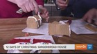 12 Days of Christmas: Gingerbread House
