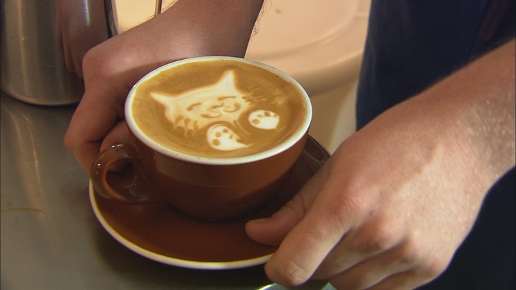 The lattes will be made with cannabis' calming non-psychoactive, so the drinks' won't make you high - just chill you out.