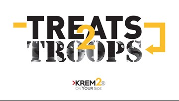 Friday, Nov. 9: Treats 2 Troops event downtown, special on TV