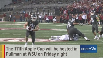 Counting down to Apple Cup at WSU in Pullman