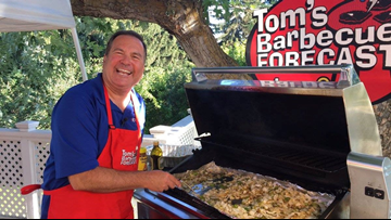 Tom's BBQ forecast promotes 'Beef Counts' program for needy families