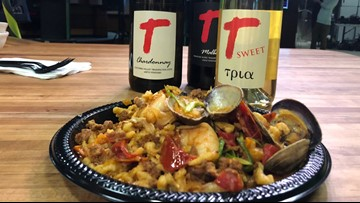 In the kitchen with Tagaris Winery and chef Joshua DuQuist