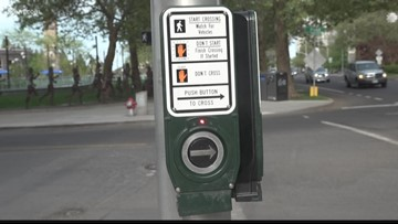 Audio cues, automatic walk signals headed to downtown Spokane crosswalks