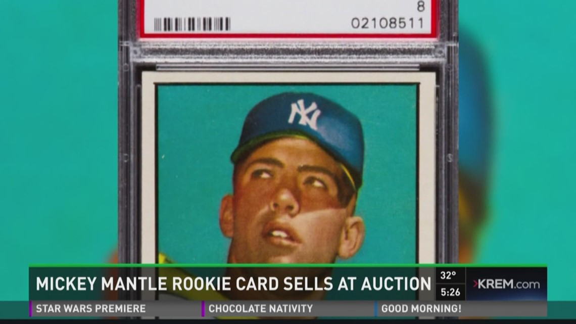 Mickey Mantle Rookie Card Sells At Auction Kremcom