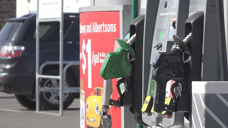 Washington and Idaho have some of the highest gas prices in the nation right now.