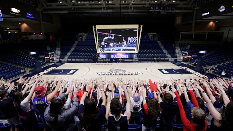 Proof of vaccination or negative COVID-19 test required for Gonzaga sporting events