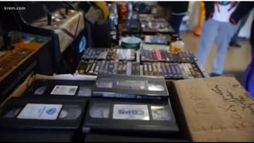 VHS tapes continue to live on through local business owners