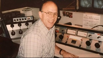Local man remembers dad's time at KREM, collects old footage