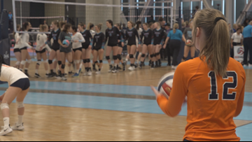 Volleyball tournament takes over Inland Northwest
