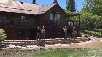 'I think they're God's people'   AmeriCorp members help save Cusick woman's cabin from floods