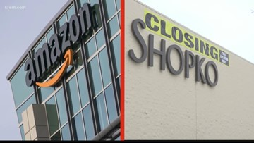 Retail chains closing as Amazon thrives