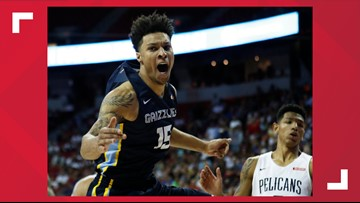 Brandon Clarke and Tyler Harvey come up big to send Grizzlies to NBA Summer League final