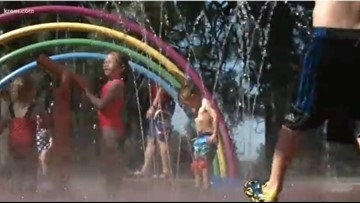 Beat the summer heat and cool off in Spokane splash pads, city pools