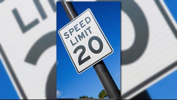 You could get a $214 fine for driving faster than 20 mph near parks, pools