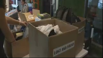 Backpacks, shoes, cell phones among items in Hoopfest lost and found