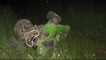 ATV crash in Clearwater County leaves two dead