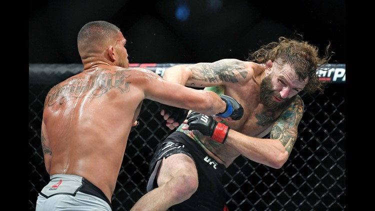 The loss drops Chiesa's UFC record to 7-4, and will move him out of the Top-10 of the Lightweight rankings.