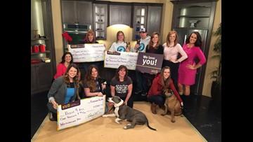 Three animal charities win Who Do You Love donation 2016