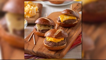 Tom's BBQ Forecast: Cheesehead sliders
