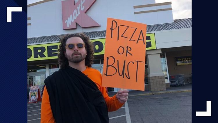 'Where am I gonna get my pizza': Spokane man to host vigil for Little Caesars in Kmart