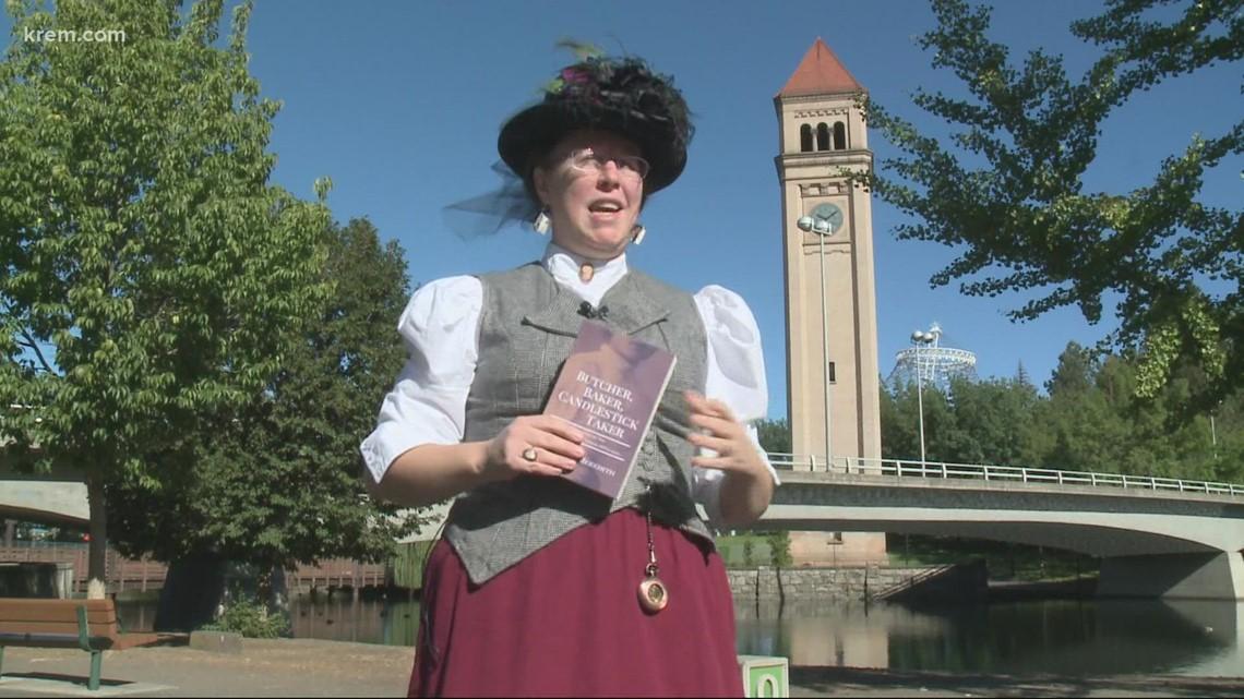 Spokane history inspires writer of mystery book Butcher Baker, Candlestick Taker