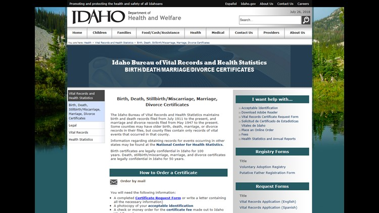 Idaho seeing applications to change birth certificate gender | krem.com