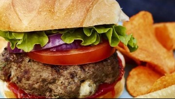 Tom's BBQ Forecast: Blue cheese burgers