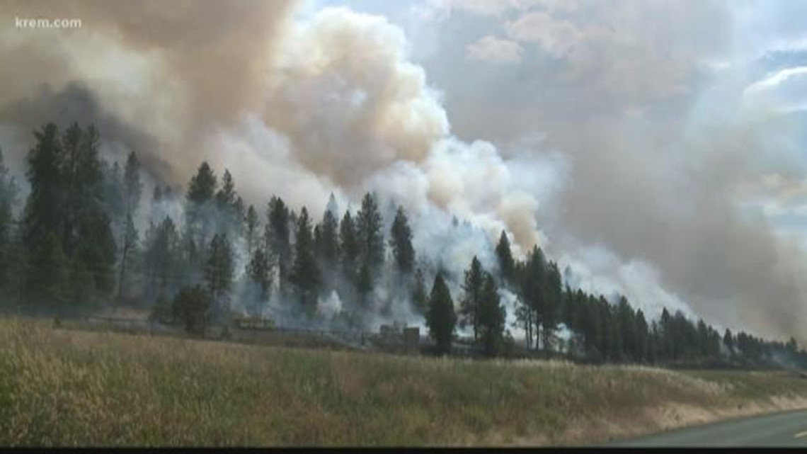 Spokane Complex Fire Map.All Level 3 Evacuations Downgraded For Residents Near Silver Lake