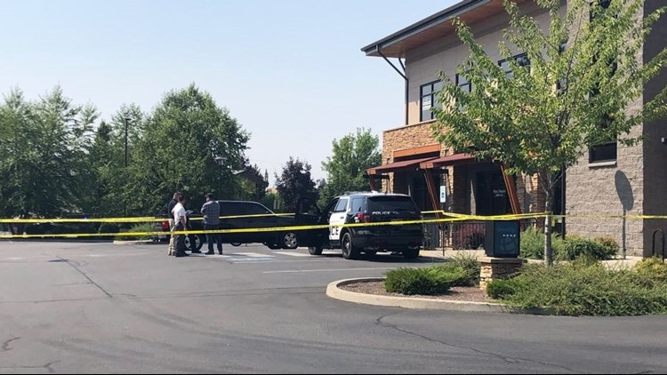 Coeur d'Alene officials are at the scene of a shooting that happened at the Global Credit Union Saturday afternoon. Officials said one person is dead.