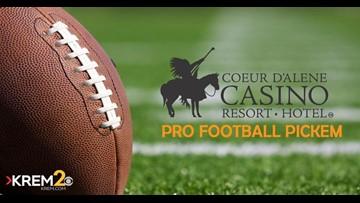 Coeur d'Alene Casino Pro Football Pick 'em Contest