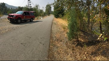 Arsonist starts 13 brush fires in Kellogg, police searching for suspect