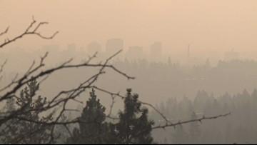 California wildfire smoke may affect Spokane air quality